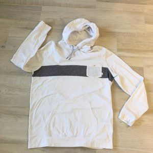 Quicksilver front pocket knit pullover hoodie